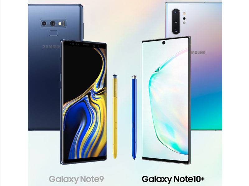 Samsung Galaxy Note 9 vs. Galaxy Note 10