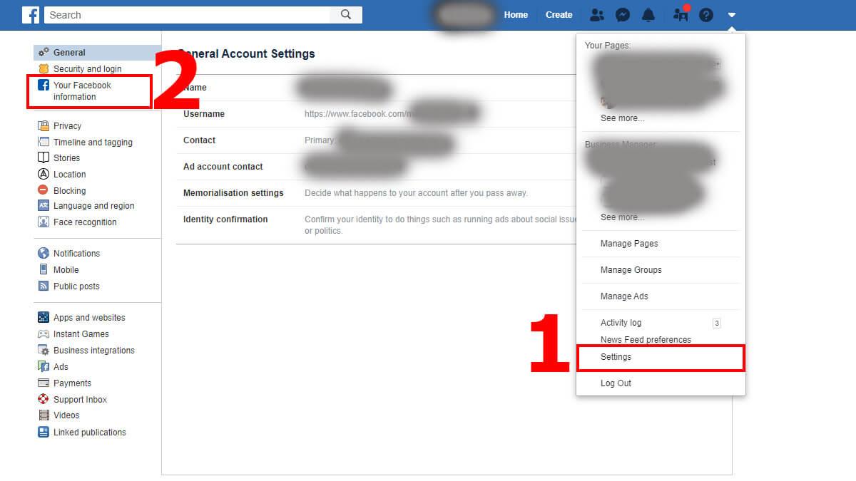 Cont facebook recuperare Recuperarea unui