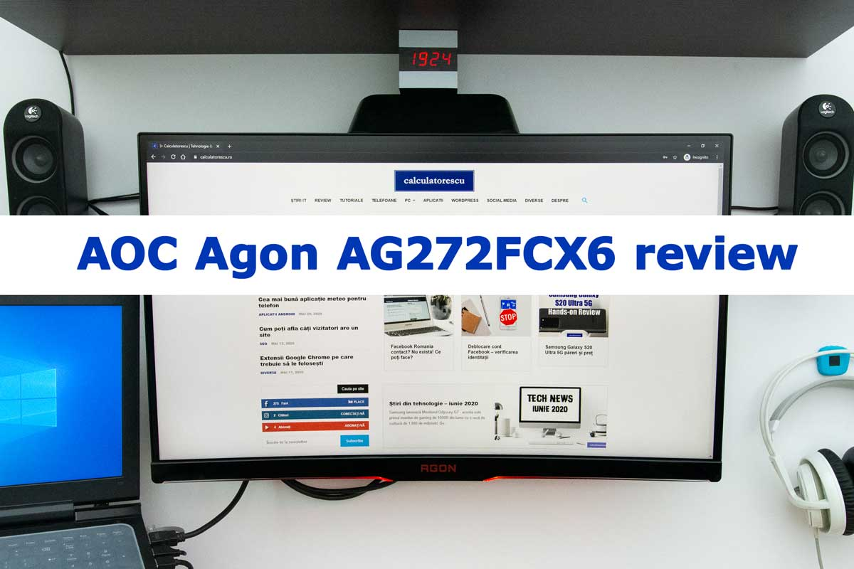AOC Agon AG272FCX6 review