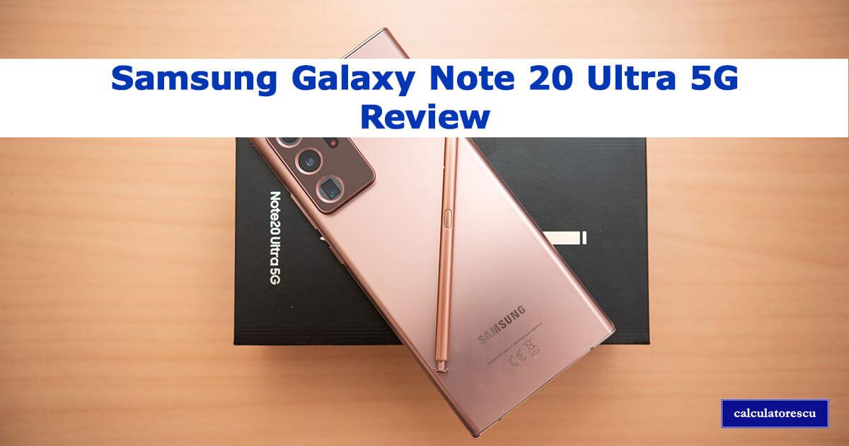 Samsung Galaxy Note 20 Ultra 5G păreri