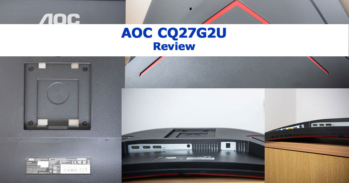 AOC CQ27G2U Monitor | Păreri și Review