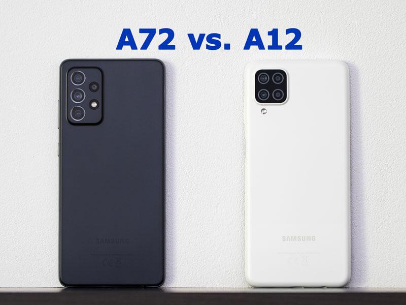 A72 vs a12